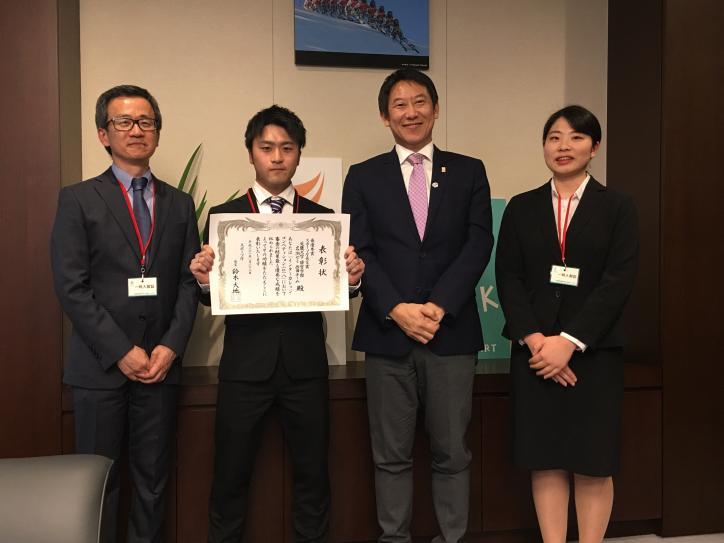 インターカレッジ・コンペティション2018スポーツ庁長官賞授与式について