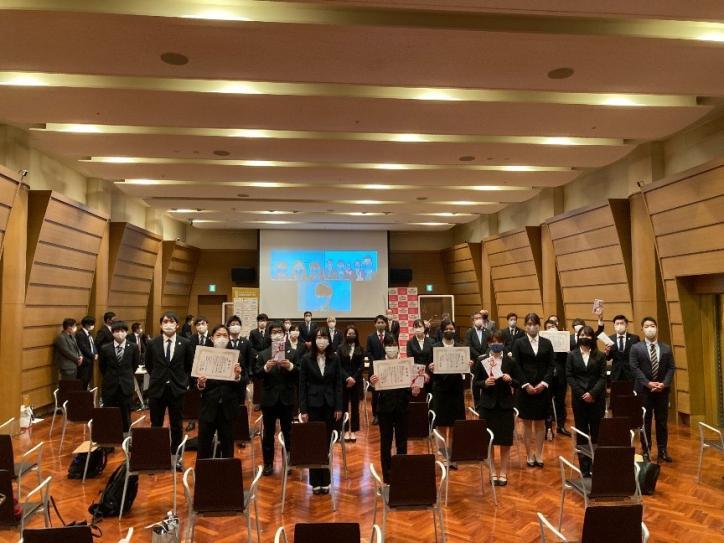 インターカレッジ・コンペティション2020 福山大学が優勝 最優秀賞・スポーツ庁長官賞を...
